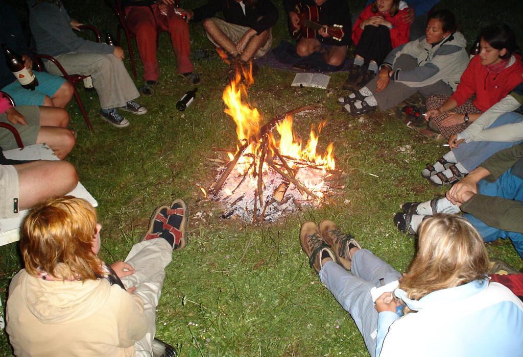 Durmitor Autocamp Razvrsje Campfire 1